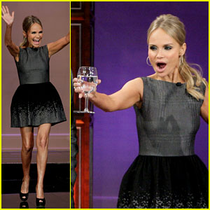 Kristin Chenoweth Talks Mystery Boyfriend on 'Leno'