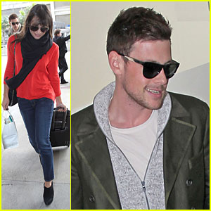 Lea Michele &#038; Cory Monteith: New York Flying Couple!