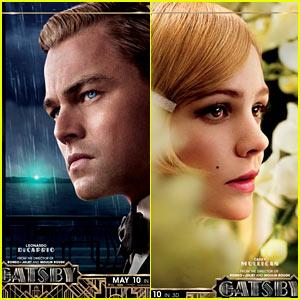 Leonardo DiCaprio & Carey Mulligan: 'Great Gatsby' Posters!
