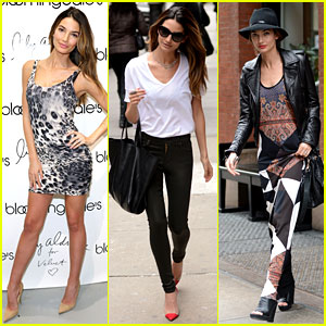 Lily Aldridge: Velvet Collection Launch at Bloomingdale's!