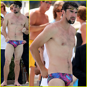Michael Phelps Shirtless Speedo Poolside Afternoon Michael Phelps News Newslocker