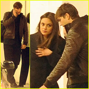 Mila Kunis & Ashton Kutcher: Gemsfield Jewelry Event in London!