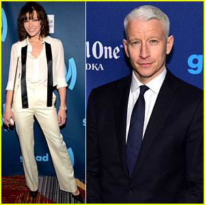 Milla Jovovich &#038; Anderson Cooper: GLAAD Media Awards!