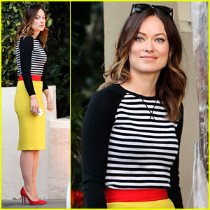 Olivia Wilde: Brightly Colored Beauty!