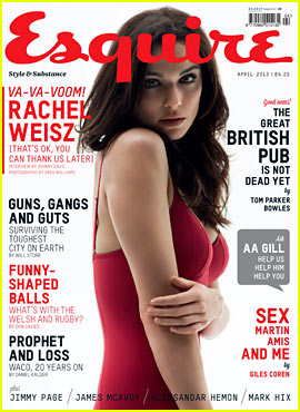 Rachel Weisz Covers 'Esquire UK' April 2013