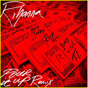 Rihanna: 'Pour It Up' Remix - Listen Now!