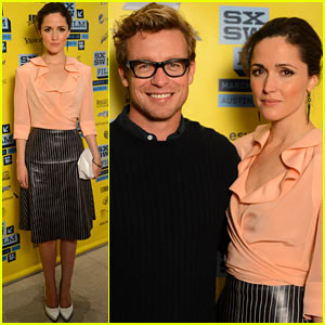 Rose Byrne & Simon Baker: 'I Give It A Year' SXSW Premiere!
