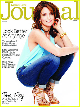 Tina Fey Covers 'Ladies' Home Journal' April 2013!