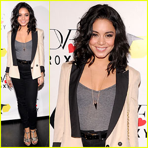 Vanessa Hudgens: DVF Loves Roxy Launch Event!