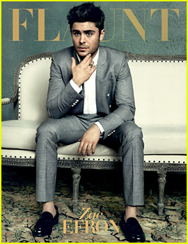 Zac Efron Covers 'Flaunt' Magazine (Exclusive Images)