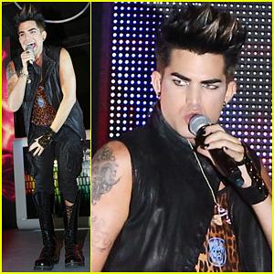 Adam Lambert: Amazing To Be Part of the Gay Movement!