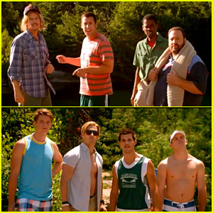 Adam Sandler & Taylor Lautner: 'Grown Ups 2' Trailer!