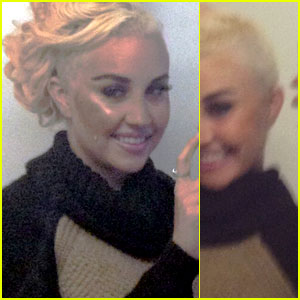 Amanda Bynes Shaves Half Her Head - See New Haircut!