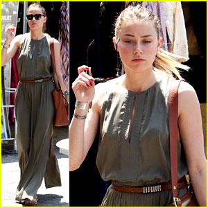 Amber Heard: Solo Shopping After Night with Johnny Depp