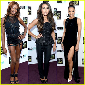 Azealia Banks & Naya Rivera: NewNowNext Awards 2013