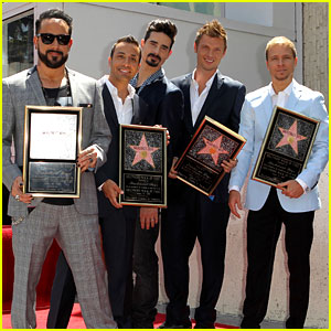 Backstreet Boys: Hollywood Walk of Fame Ceremony!