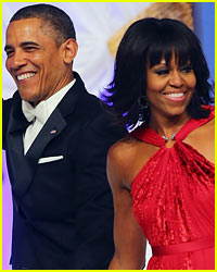 Barack Obama Rocks Michelle Obama's Bangs!