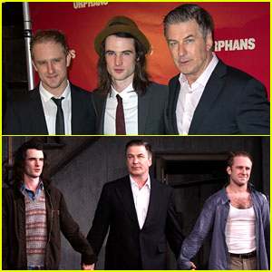 Ben Foster & Tom Sturridge: 'Orphans' Broadway Opening!