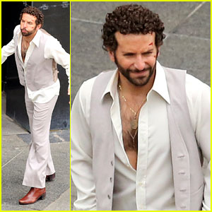 Bradley Cooper: 'Abscam Project' Fight Scene!