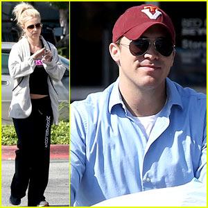 Britney Spears & David Lucado: Breakfast & Shopping Day!