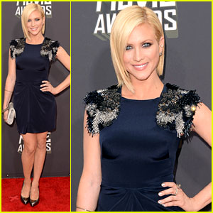 Brittany Snow - MTV Movie Awards 2013 Red Carpet