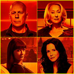Bruce Willis & Helen Mirren: 'Red 2' Trailer & Character Posters!