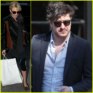 Carey Mulligan & Marcus Mumford: Separate NYC Outings