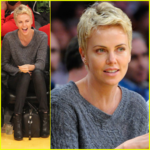 Charlize Theron: Lakers Gal