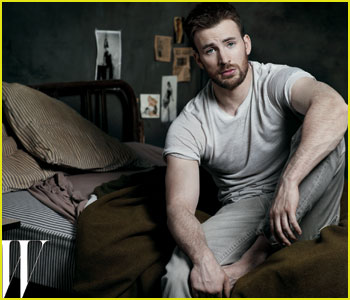 Chris Evans: 'W' Magazine Feature!