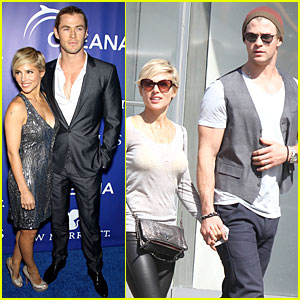 Chris Hemsworth & Elsa Pataky: Inaugural Oceana Ball!