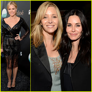 Courteney Cox & Lisa Kudrow: L.A. Modernism Show Opening!
