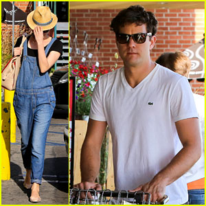 Diane Kruger & Joshua Jackson: Whole Foods Shoppers!