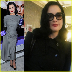 Dita Von Teese: International Beauty Show with John Blaine!