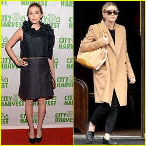 Elizabeth & Ashley Olsen: Separate Big Apple Outings!