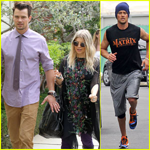 Fergie & Josh Duhamel: Easter Sunday Church Couple!