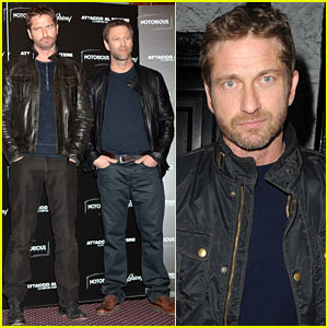 Gerard Butler: 'Olympus Has Fallen' Rome Photo Call
