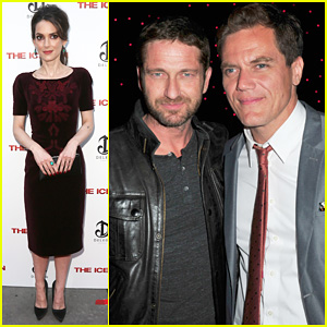 Gerard Butler & Winona Ryder: 'The Iceman' Premiere!