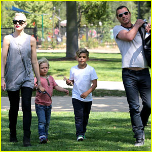 Gwen Stefani & Gavin Rossdale: Family Day at the Park!