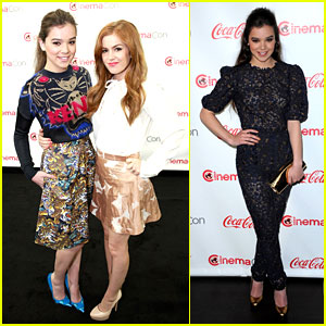 Hailee Steinfeld & Isla Fisher: CinemaCon Cuties!