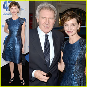 Harrison Ford & Calista Flockhart: '42' Hollywood Premiere!