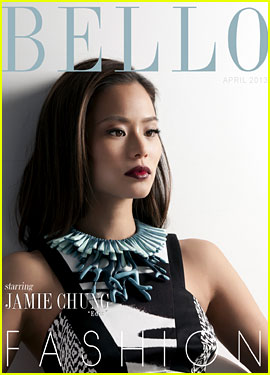 Jamie Chung Covers 'Bello' Magazine's Action Issue