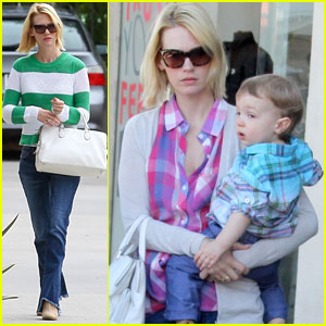 January Jones: Doctor's Office Visit!