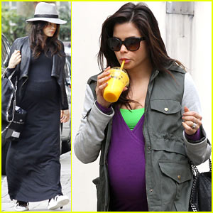 Jenna Dewan: Baby Bumpin' Through London!