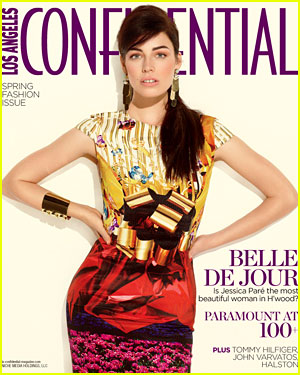 Jessica Pare Covers LA Confidential's Spring Fashion Issue