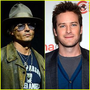 Johnny Depp & Armie Hammer: 'Lone Ranger' at CinemaCon!