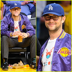 Joseph Gordon-Levitt: Los Angeles Lakers Playoff Game!