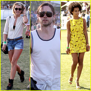 Julianne Hough & Jared Leto: Coachella Day 3 Roundup!