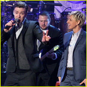 Justin Timberlake Talks Jessica Biel Marriage on 'Ellen'!