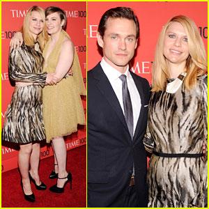 Lena Dunham & Claire Danes - Time 100 Gala 2013
