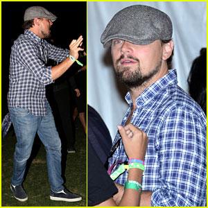 Leonardo DiCaprio: Coachella Music Festival Concertgoer!